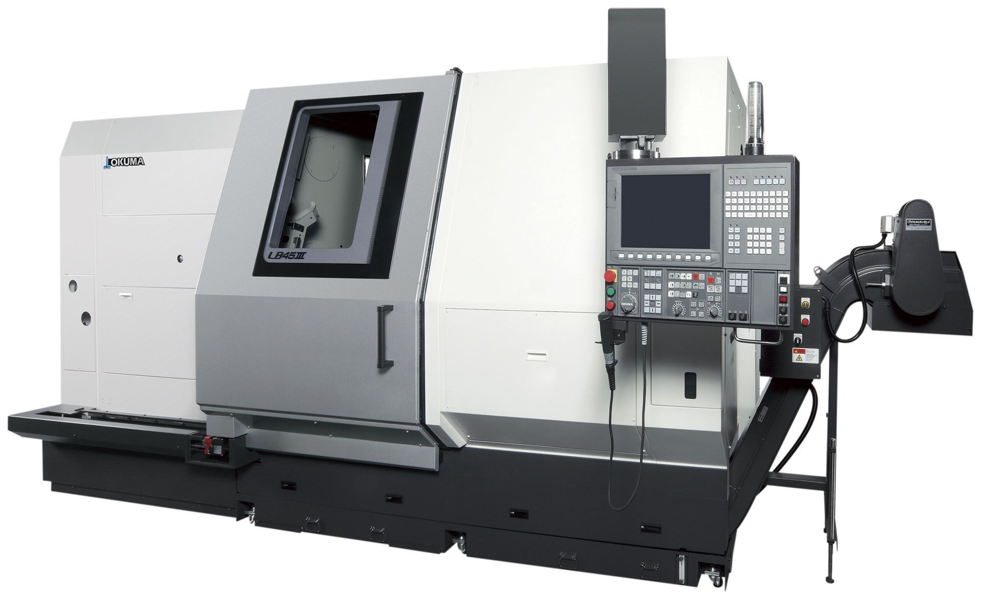Large, 1-Saddle CNC Lathes meets the demands of the times